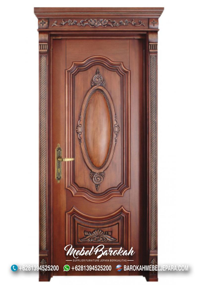 Jual Pintu Jati Model Klasik Mebel Barokah MB-782