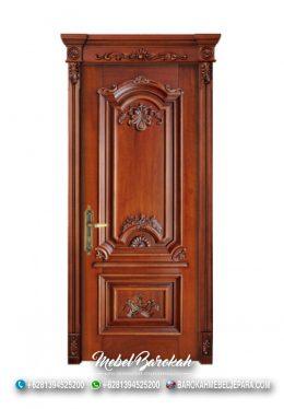 Pintu Kayu Jati Natural Neo Klasik Ukiran Jepara MB-783