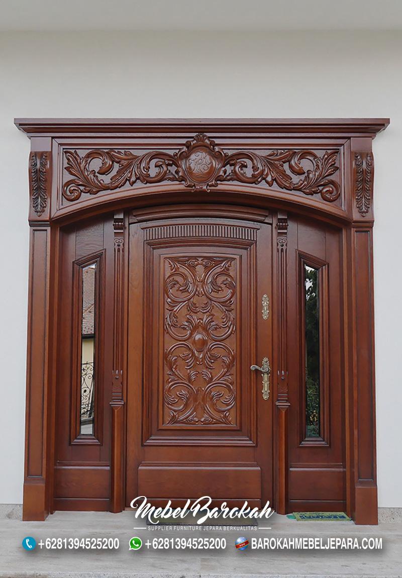 Kusen Pintu Klasik Natural Terbaik Ukir MB-789