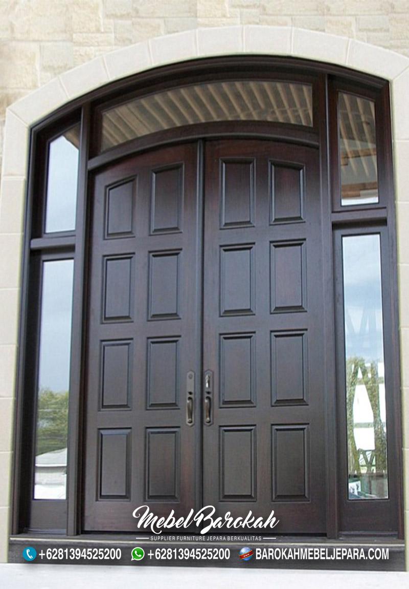 Pintu Rumah Minimalis Lengkung Mewah Salak Tua MB-854