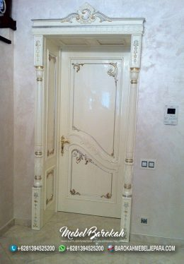 Pintu Rumah Duco Putih Untuk Rumah Mewah Ala Sultan Milenial MB-868