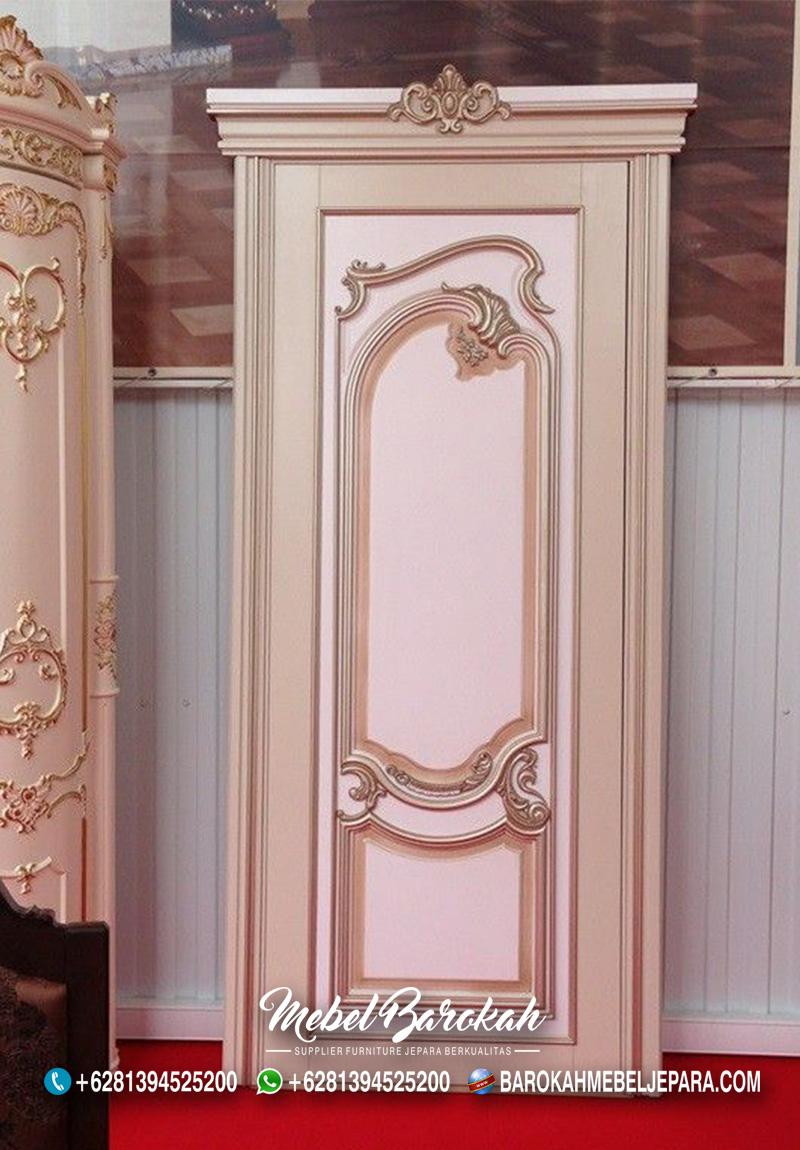 Model Kusen Pintu Ruangan Rumah Bergaya Eropa Terlaris Soft Colour MB-871