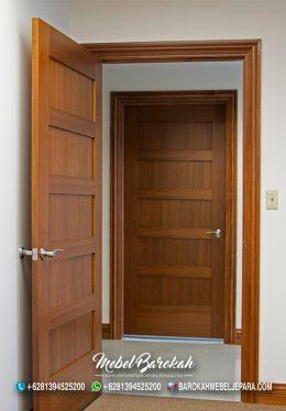 Jual Kusen Pintu Kayu Jati Solid Murah Berkualitas Tinggi MB-872