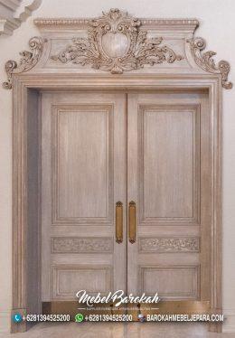 Pintu Custom Untuk Rumah Klasik Bergaya Spanyol Mewah MB-876