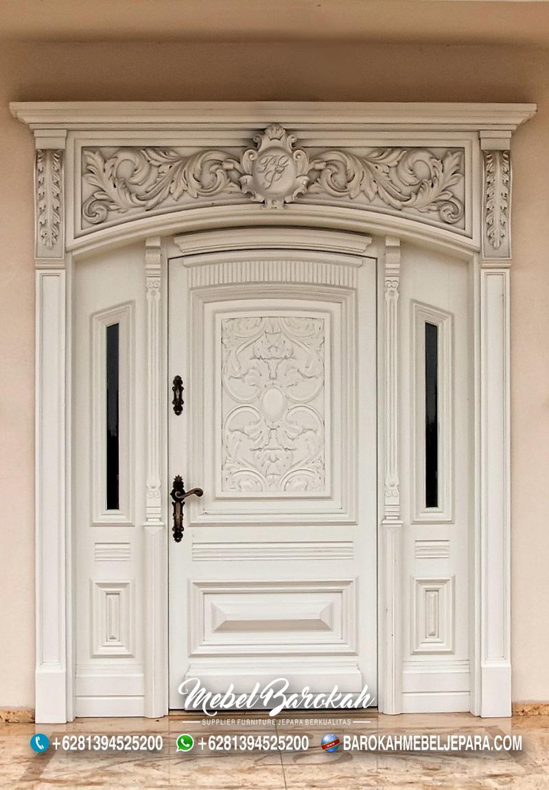 Model Pintu Utama Terbaik Untuk Rumah Mewah MB-796
