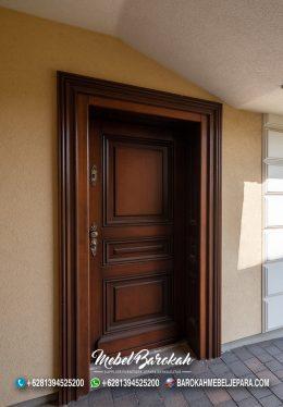 Pintu Rumah Kayu Jati Minimalis Simple MB-800