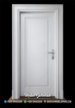 Desain Pintu Kamar Model Terbaru Putih Sederhana MB-810