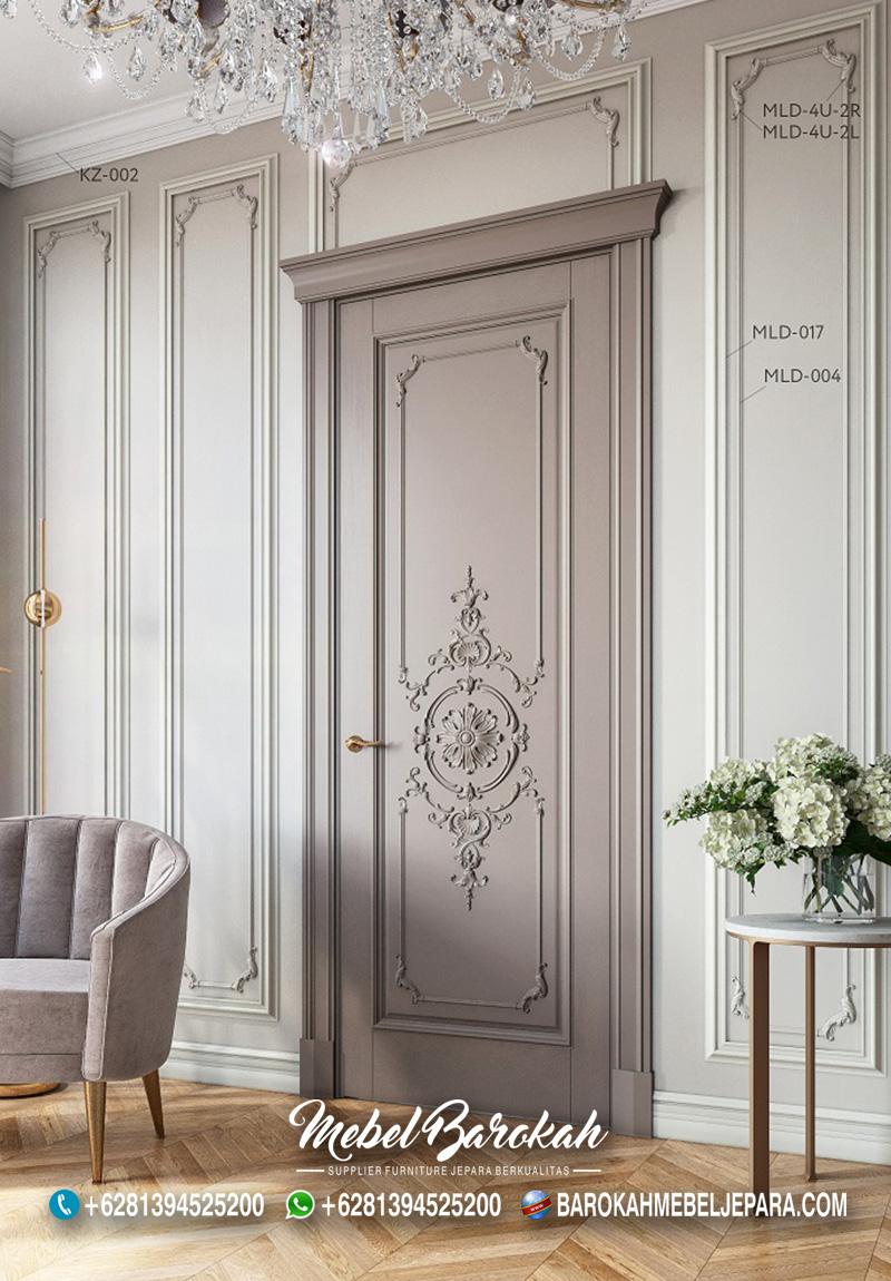 Desain Pintu Luxury Mewah Terbaru Model Brussel MB-830