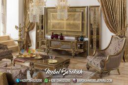 Interior Gaya Arab Backdrop TV Full Glamour MB-923