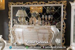 Figura Ukir Cermin Rias Set Cabinet Console Murah MB-1099